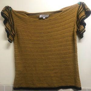 LOFT Knitted short sleeve sweater